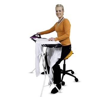 Homemaker ironing - Salli Saddle Chair