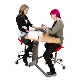 Nail studio - Salli Saddle Chair