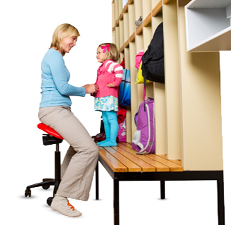 Kindergarden teacher - Salli Saddle Chair