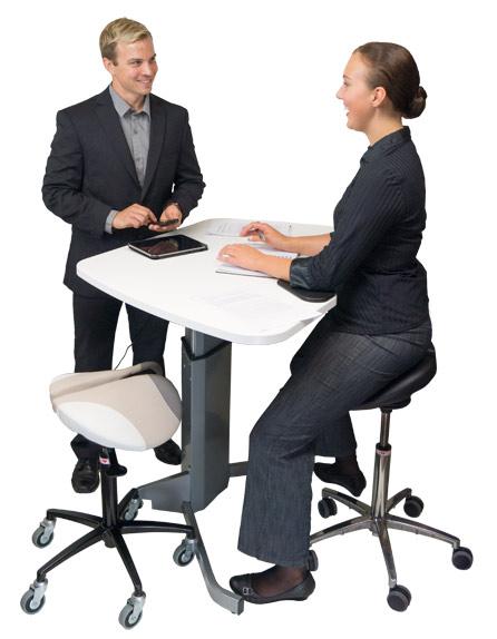 Office work - Salli Saddle Chair