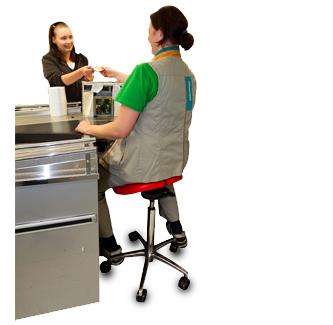 Store clerk - Salli Saddle Chair